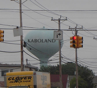 Kaboland water tower